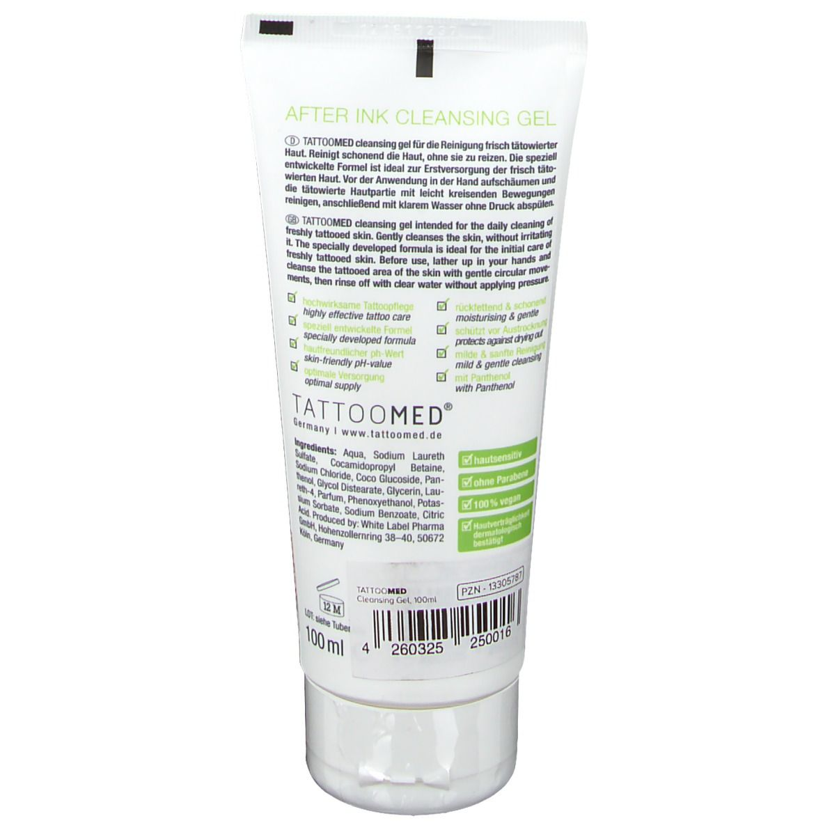 TattooMed® cleansing gel