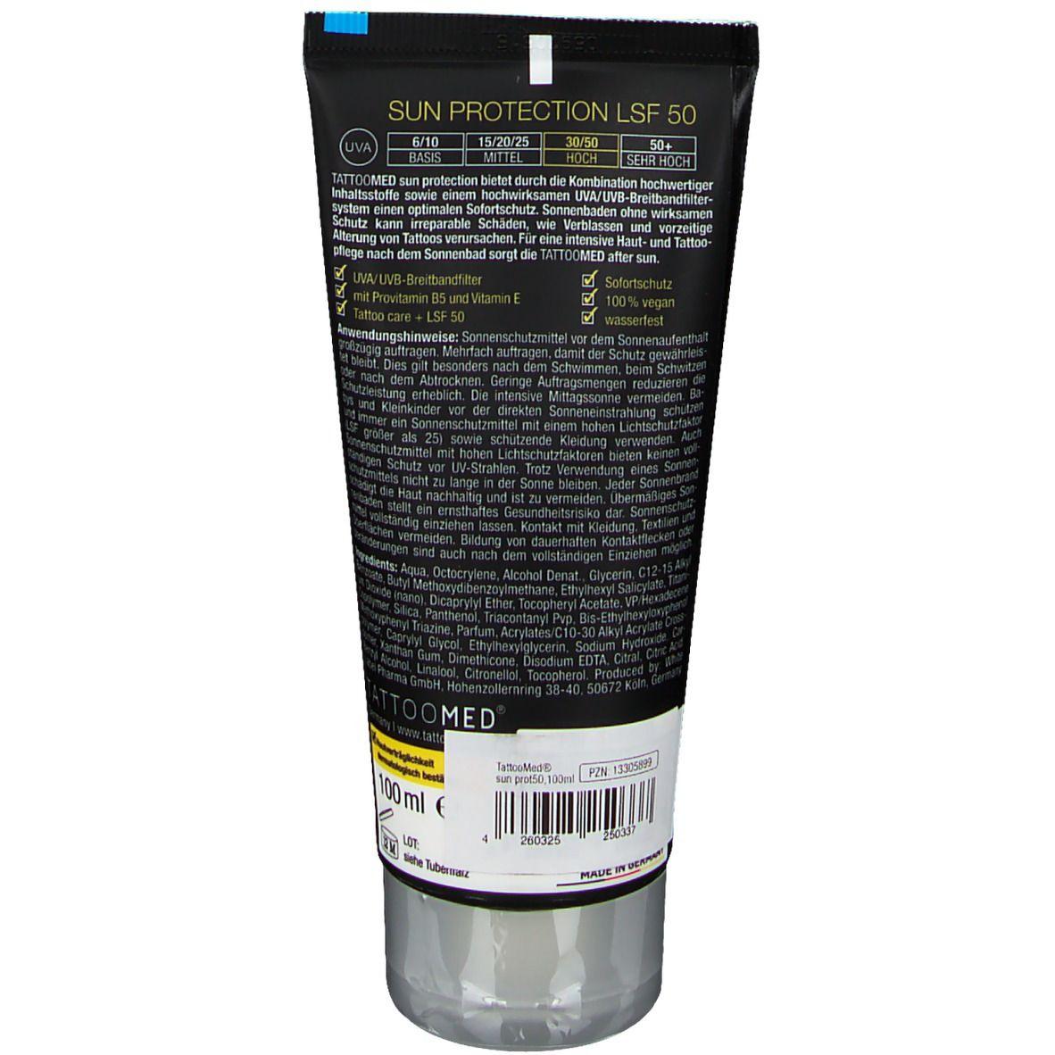 TattooMed® sun protection LSF 50