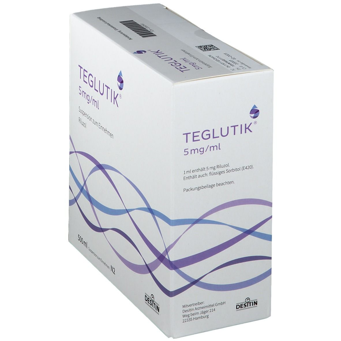 TEGLUTIK 5 mg/ml Suspension zum Einnehmen