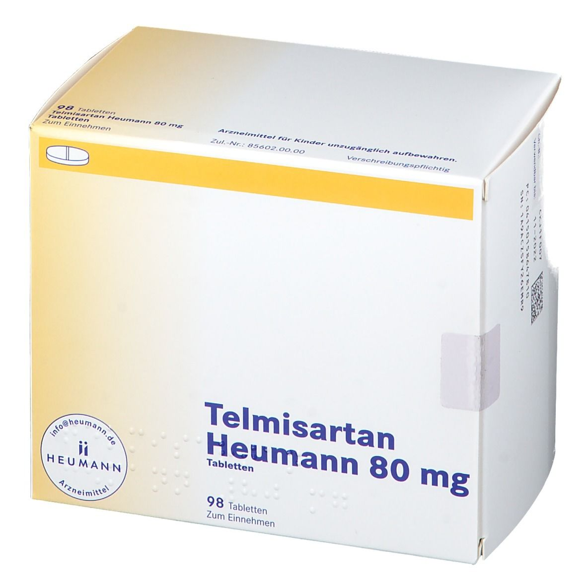 Telmisartan Heumann 80 mg
