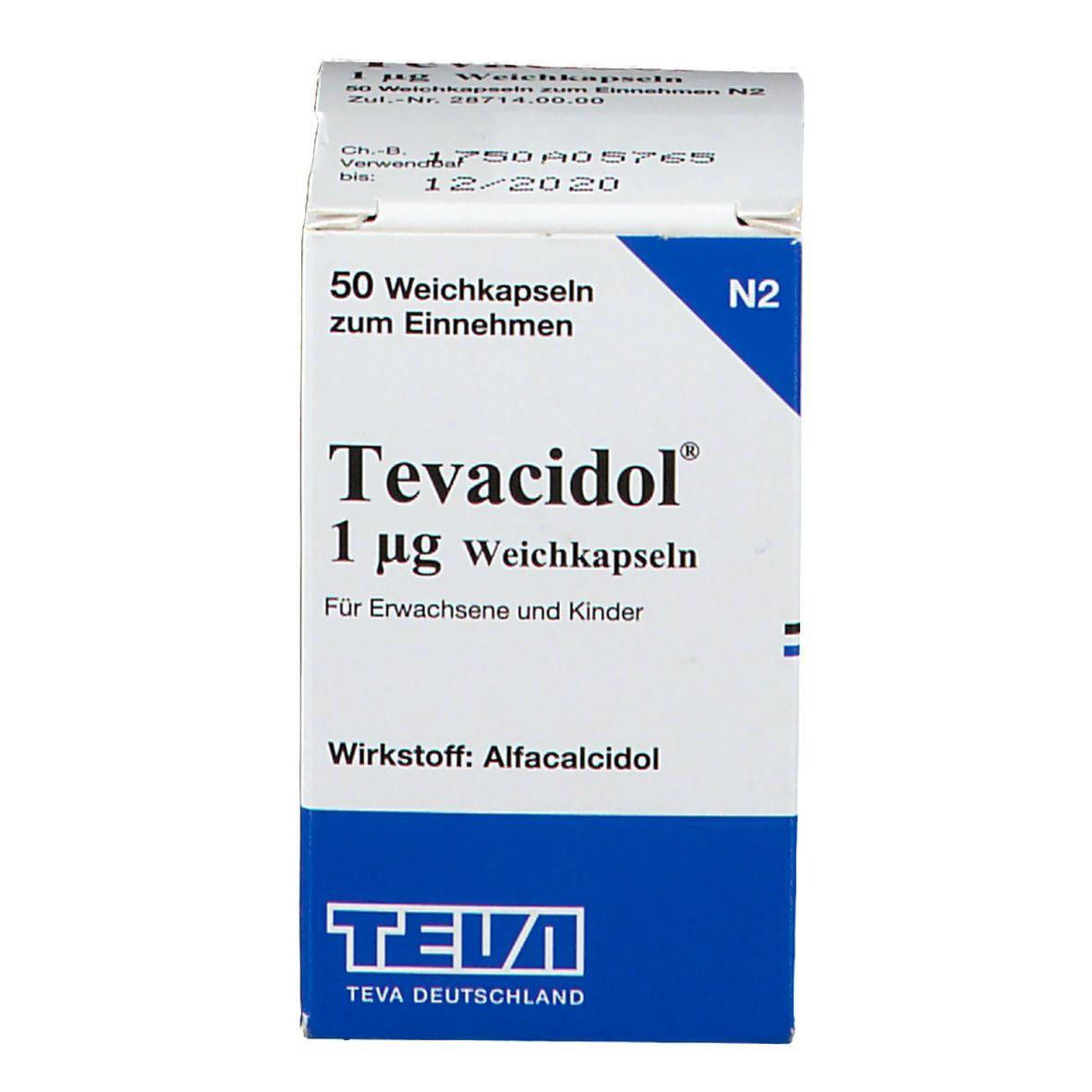 TEVACIDOL 1 µg Weichkapseln