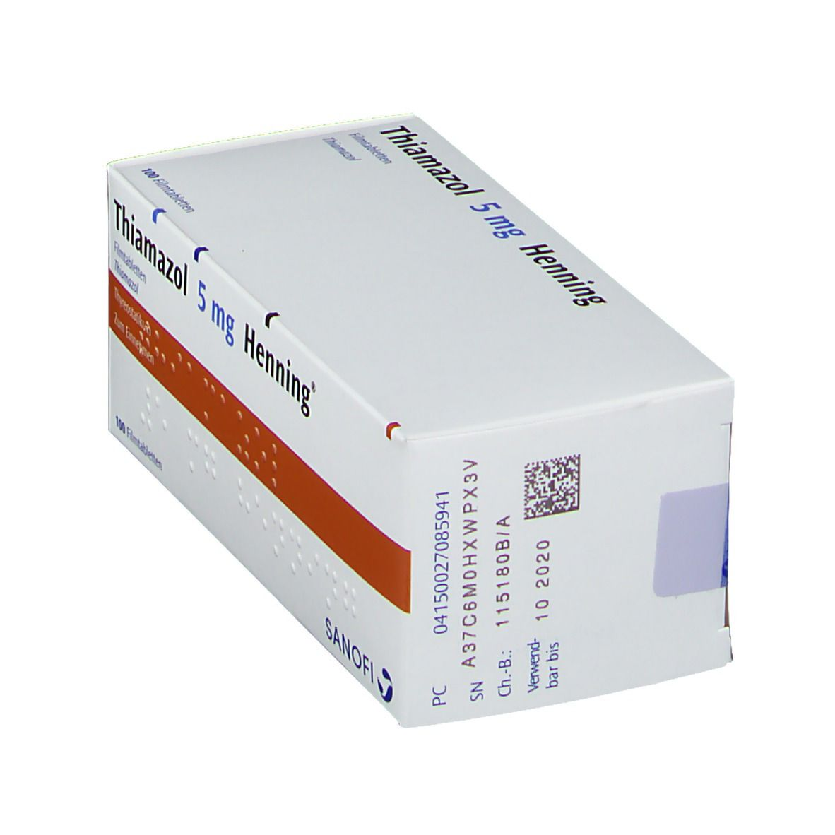 Thiamazol 5 mg Henning Filmtabl.