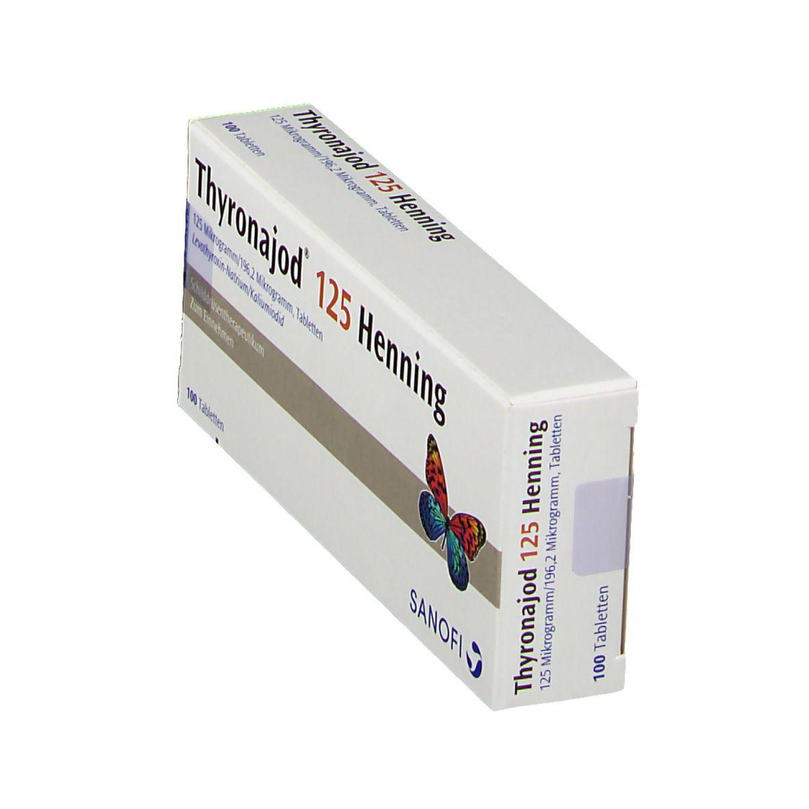 Thyronajod® 125 Henning Tabletten