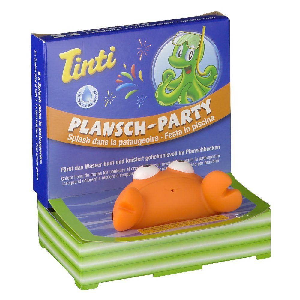 Tinti® Plansch-Party
