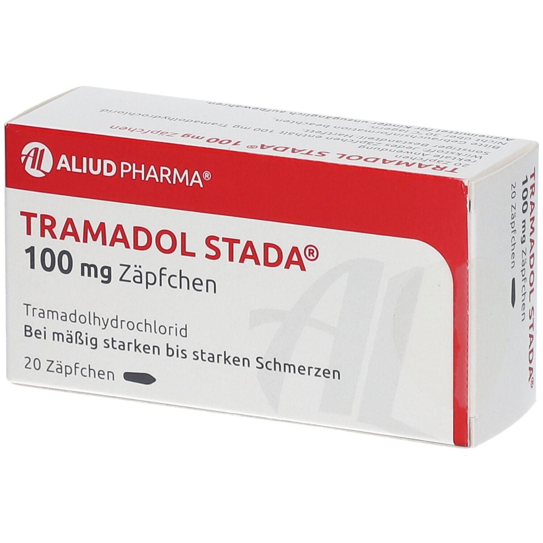 TRAMADOL STADA 100 mg Zäpfchen ALIUD