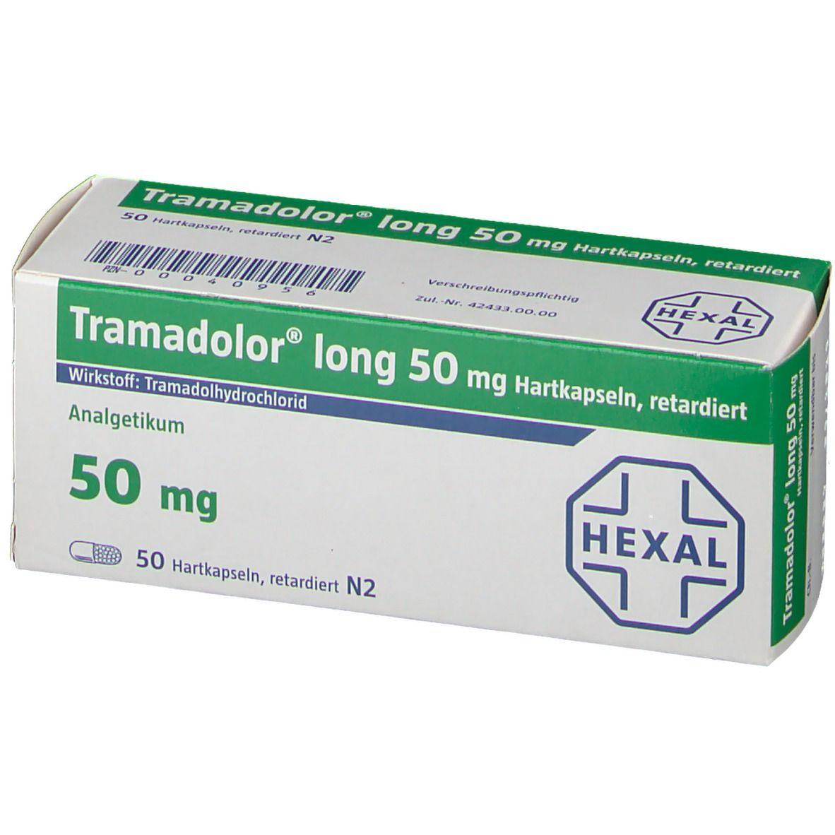 Tramadolor® long 50 mg Hartkapseln retardiert