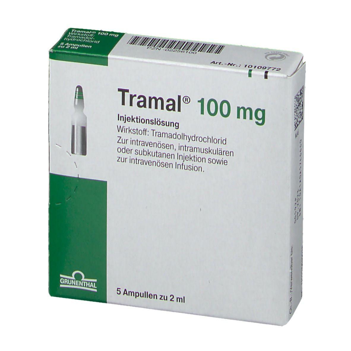 Tramal 100 mg Injektionsloesung Amp.