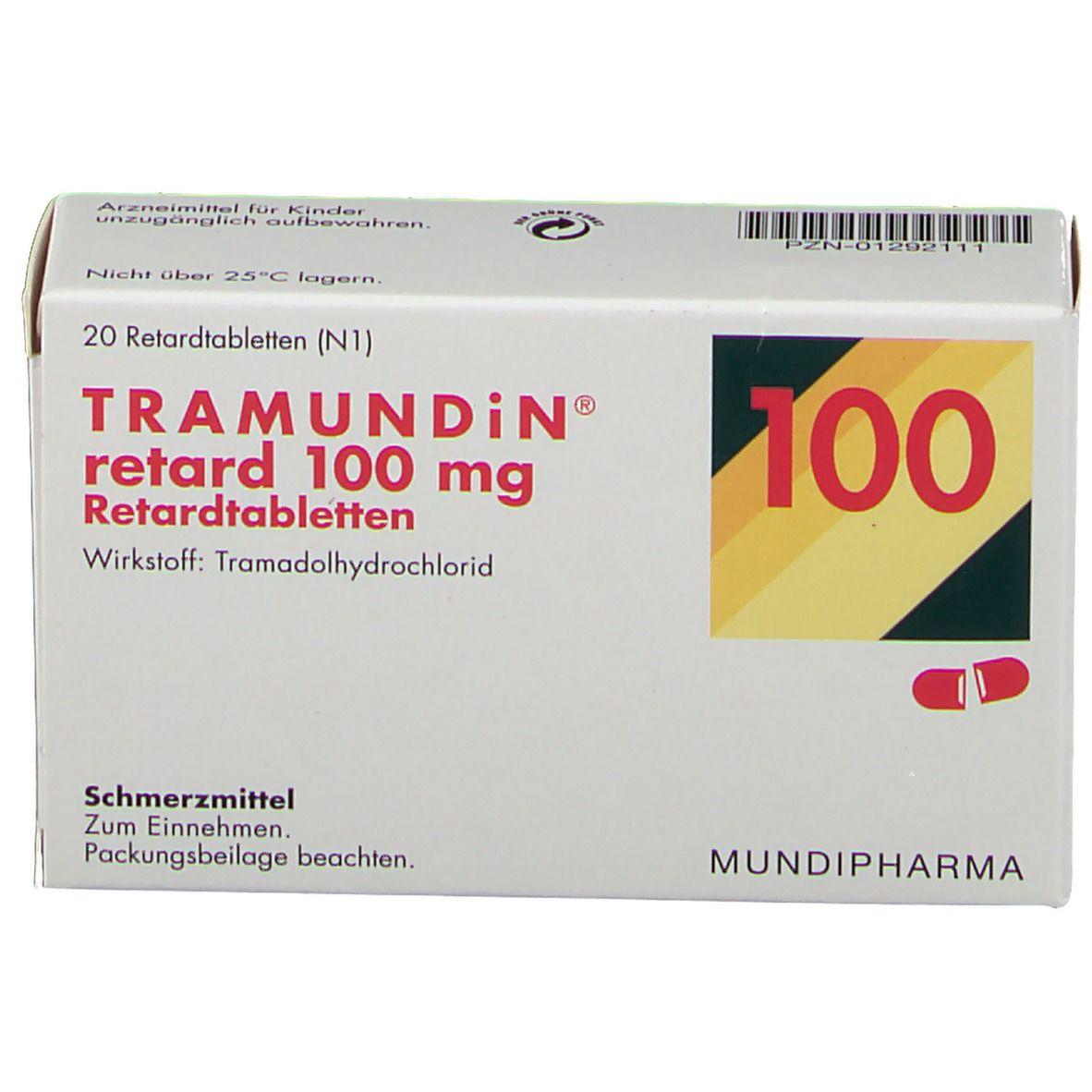 Tramundin retard 100 mg Tabletten