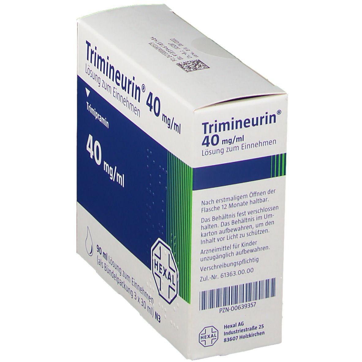 Trimineurin 40 mg/ml Lösung zum Einnehmen
