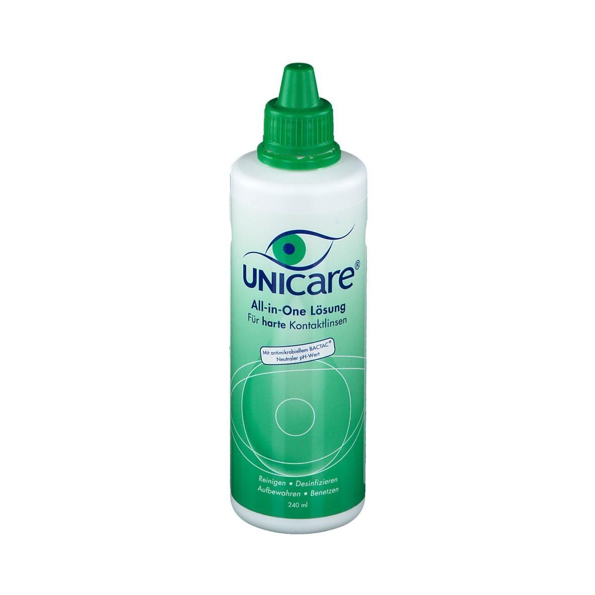 Unicare® All-in-One Lösung für Hartlinsen