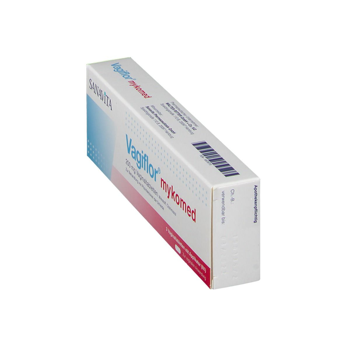 Vagiflor® Mykomed 200 mg