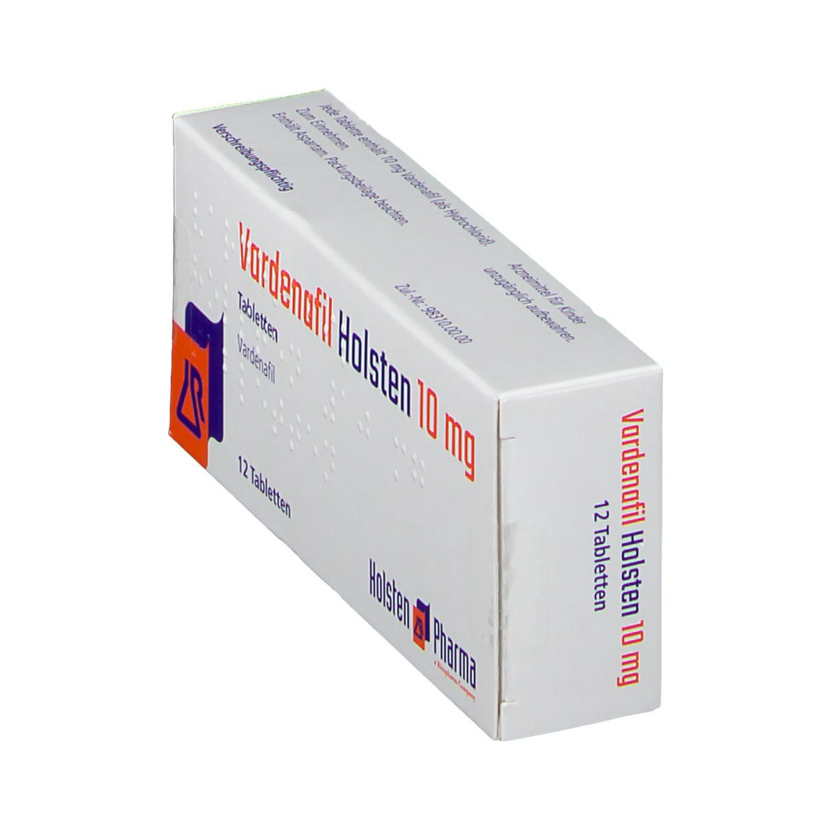VARDENAFIL Holsten 10 mg Tabletten