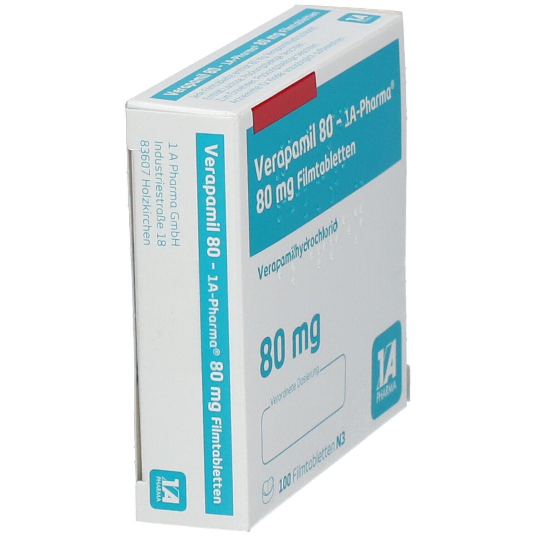 Verapamil 80 1a Pharma Filmtabl.