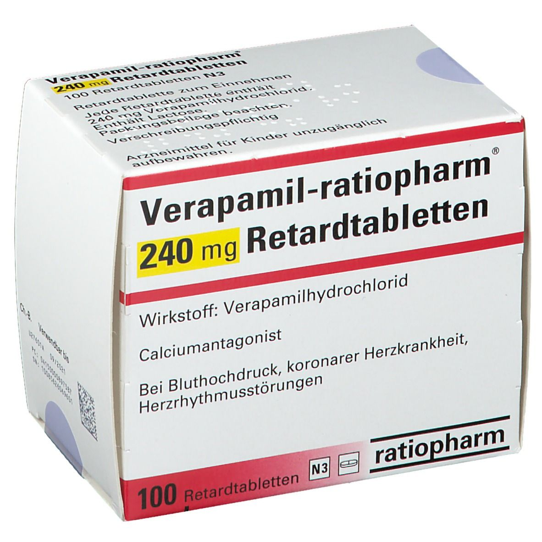VERAPAMIL ratiopharm® 240 mg