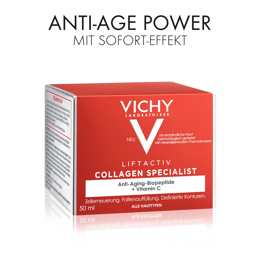 VICHY Liftactiv Collagen Specialist + 15 ml VICHY Liftactiv Nacht GRATIS