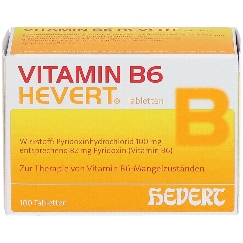 VITAMIN B 6 - HEVERT® Tabletten
