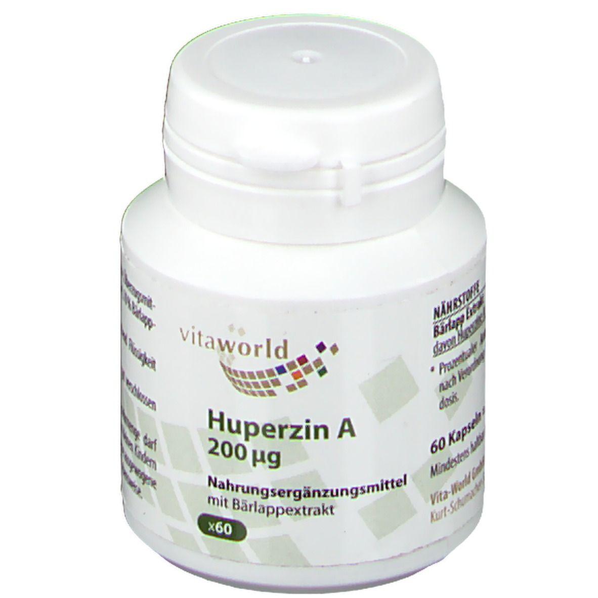 VitaWorld Huperzin A 200 µg