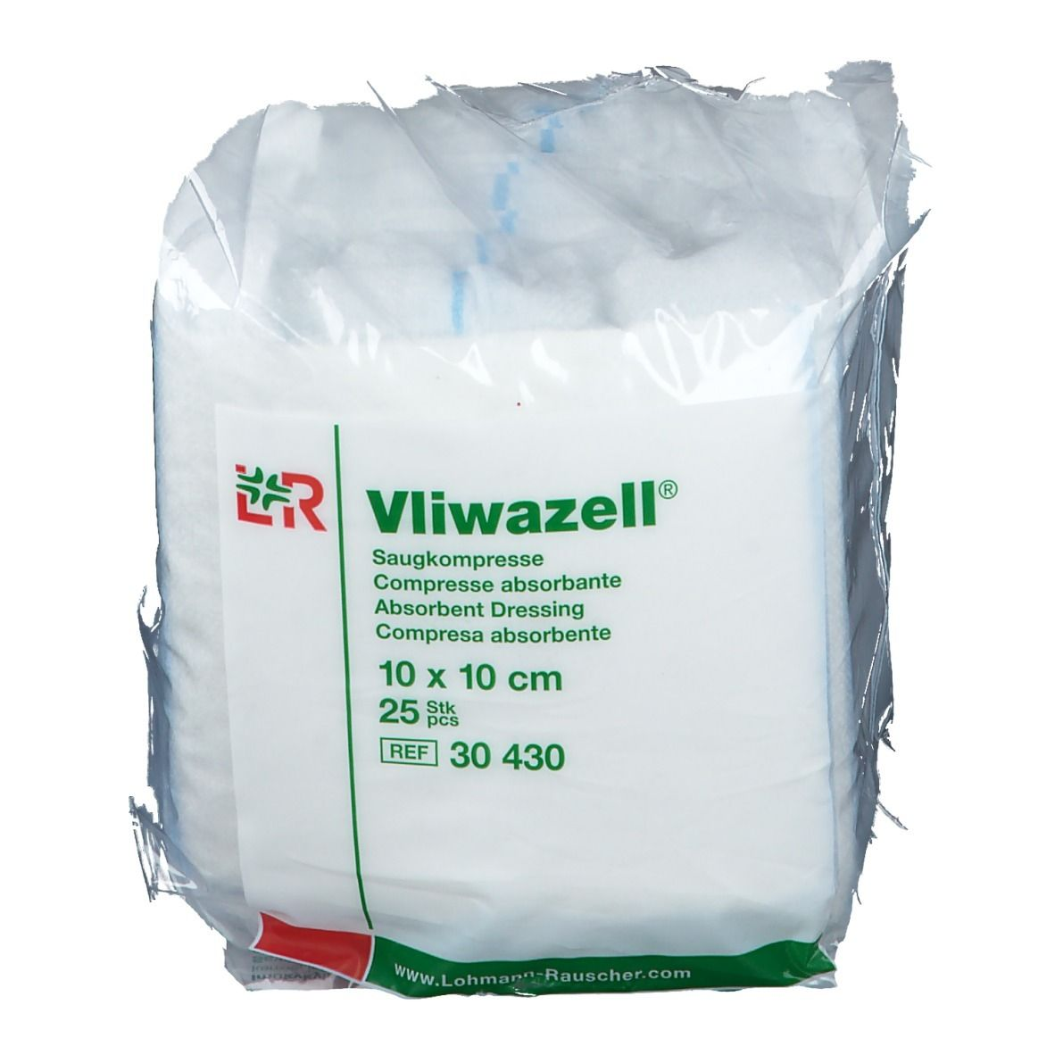 Vliwazell® Kompressen 10 x 10 cm unsteril