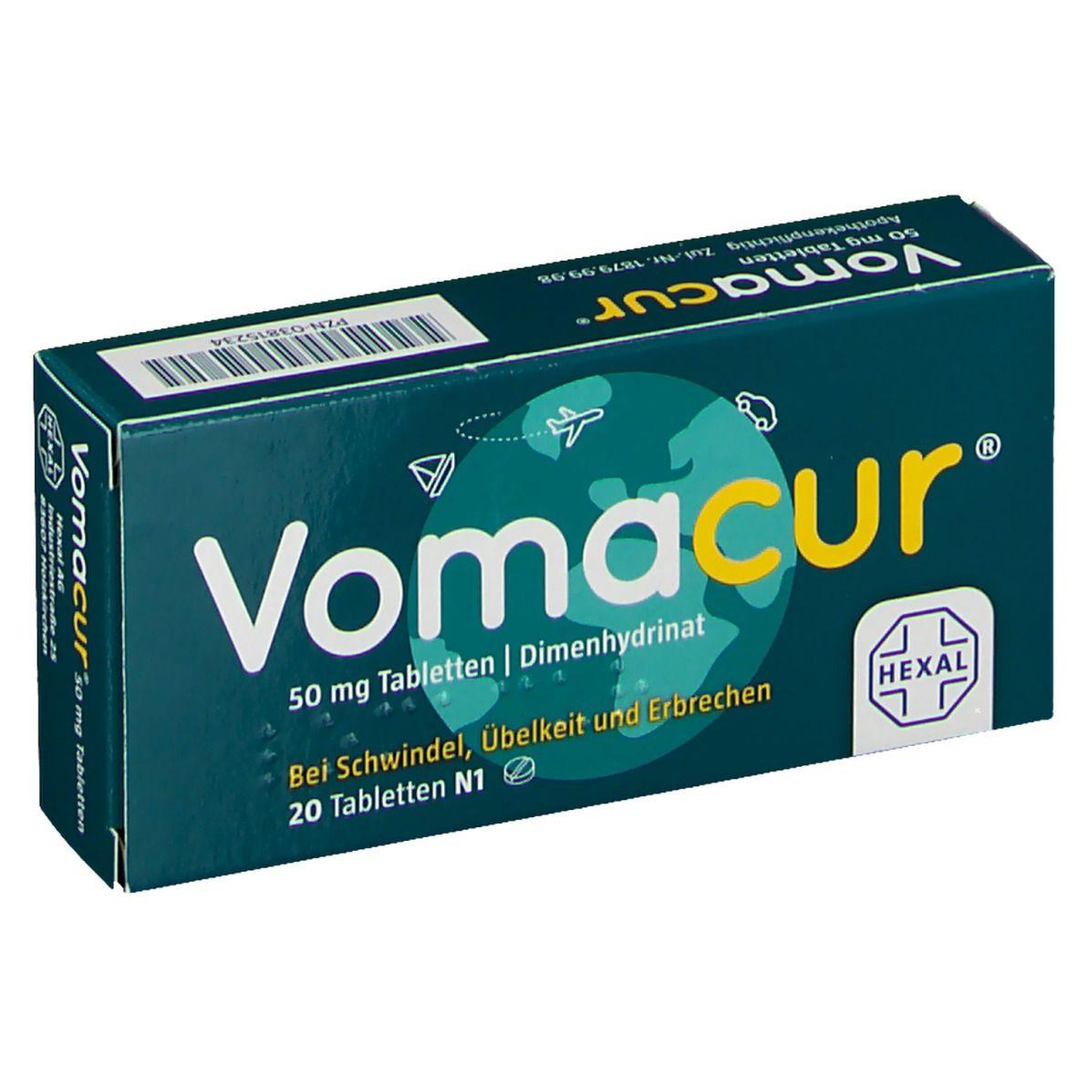 Vomacur® 50 mg