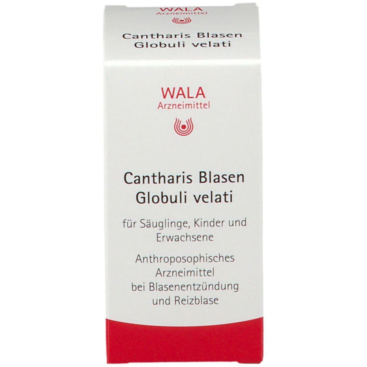 WALA® Cantharis Blasen Globuli velati