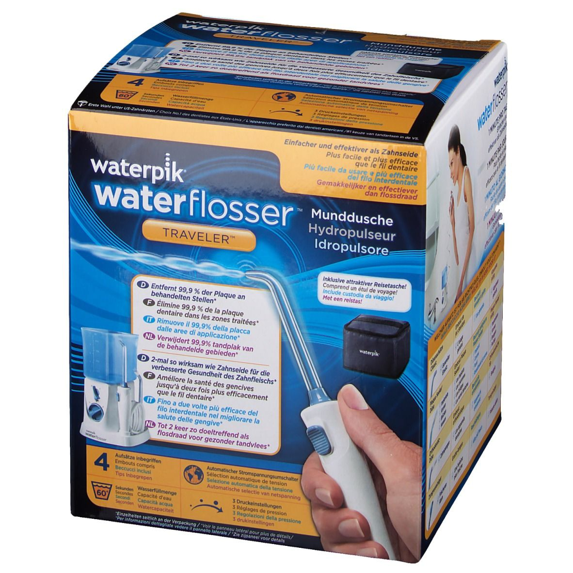 Waterpik® Traveler WP-300E Munddusche