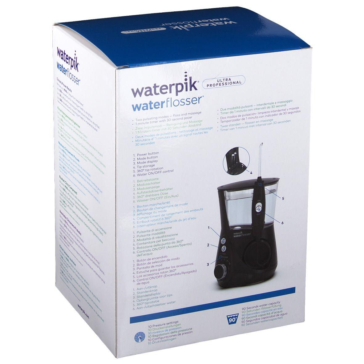 Waterpik® Ultra Professional black WP-672