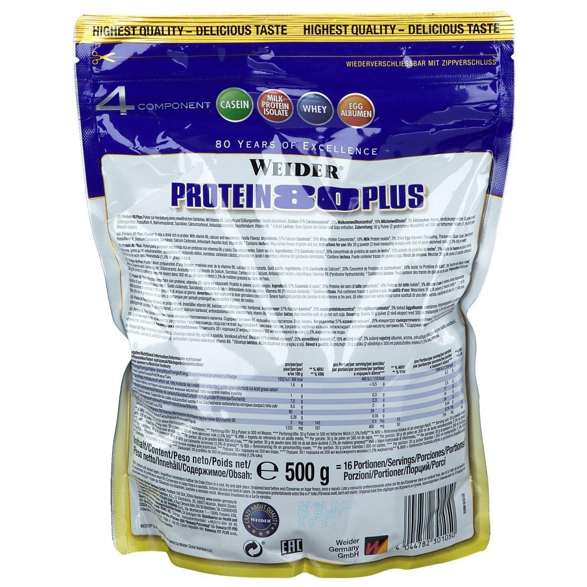 WEIDER® Protein 80 Plus Vanille
