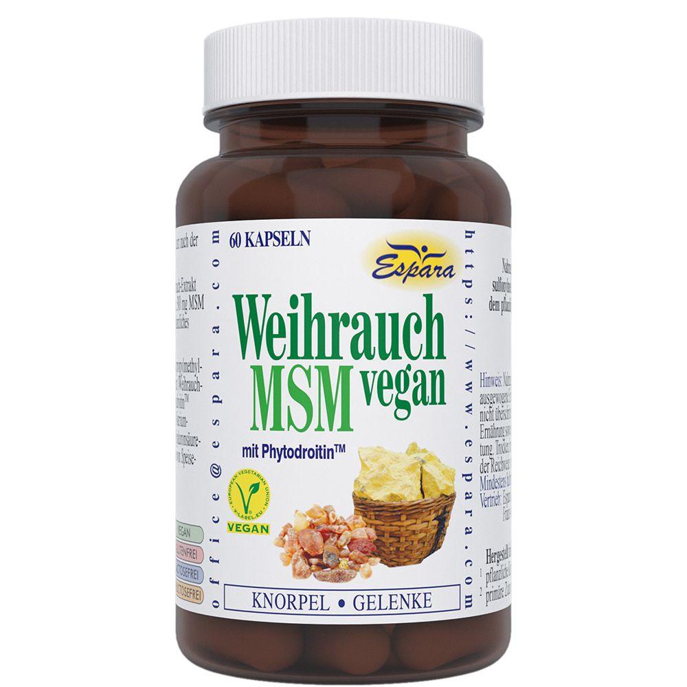 Weihrauch MSM vegan