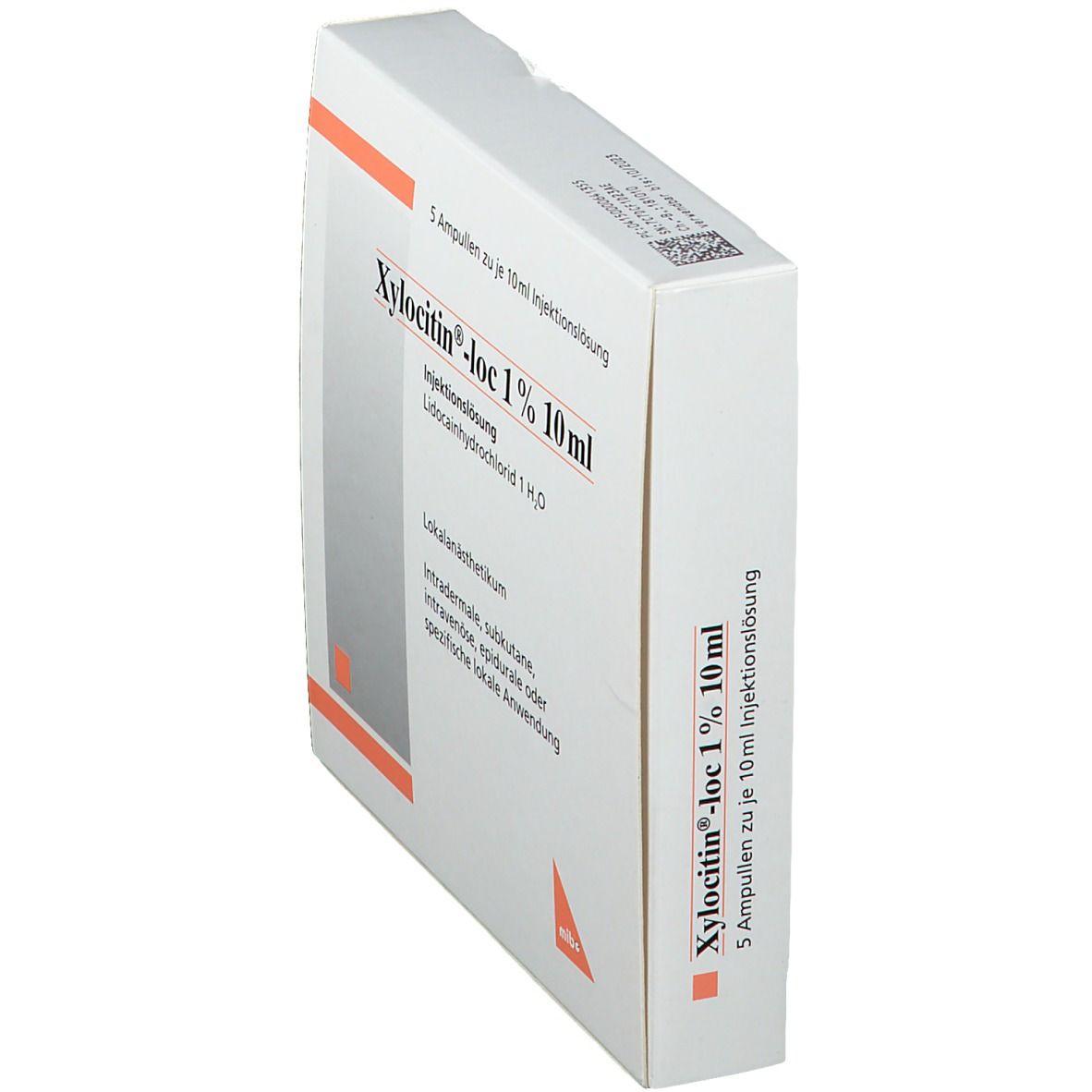 Xylocitin Loc 1% 10 ml Amp.
