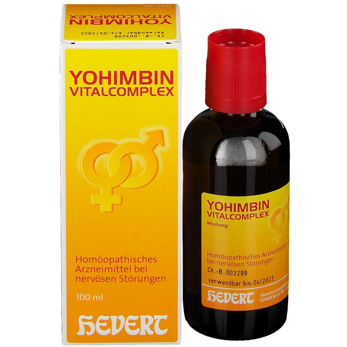 YOHIMBIN VITALCOMPLEX HEVERT®