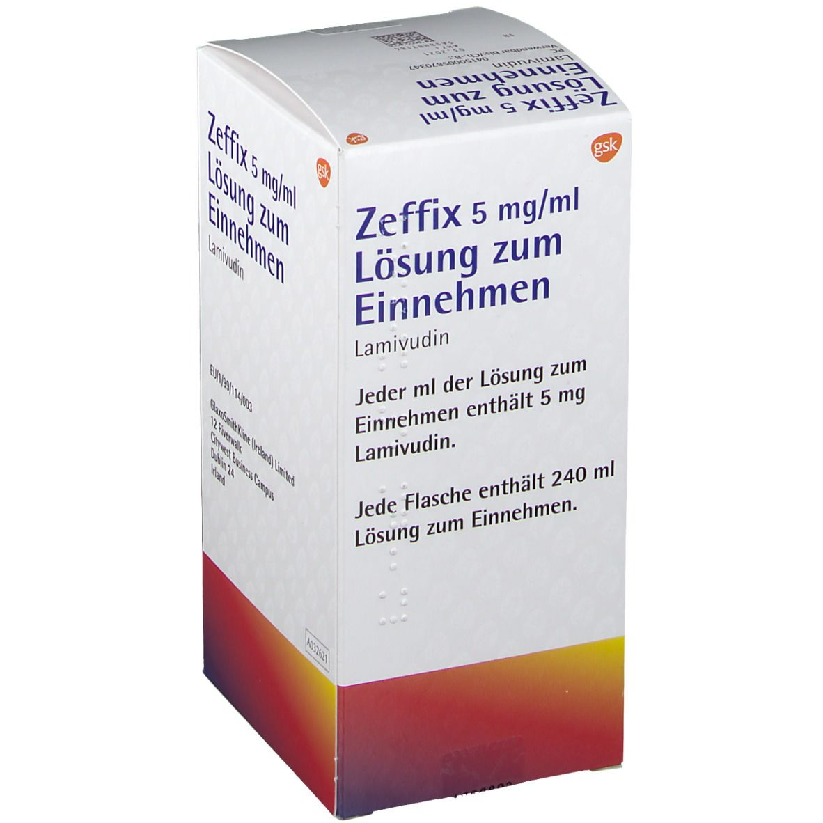 Zeffix 5 mg/ml Loesung