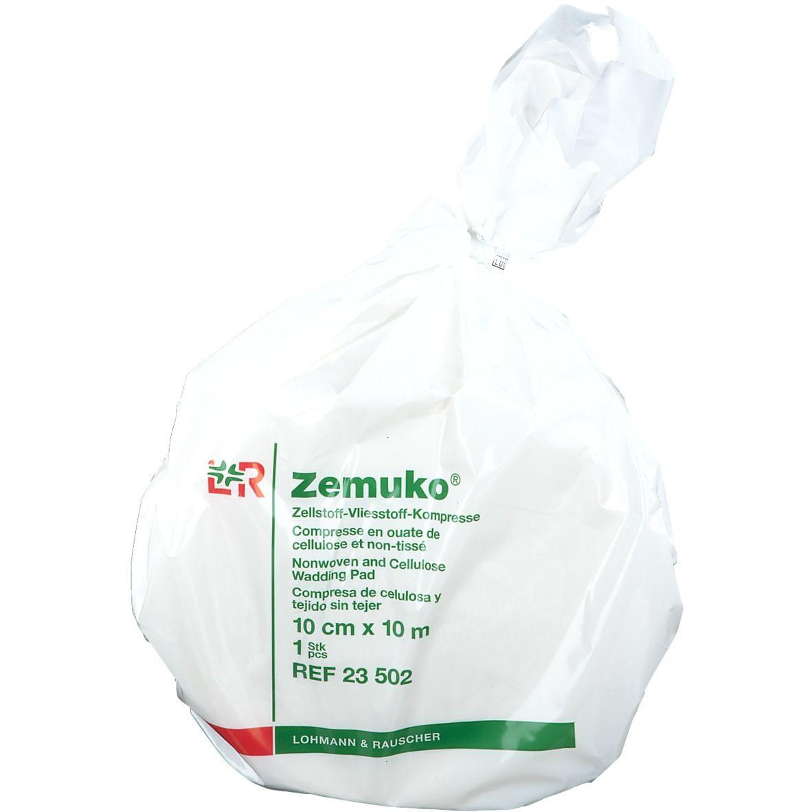 Zemuko Kompr. gerollt 10mx10cm 23502