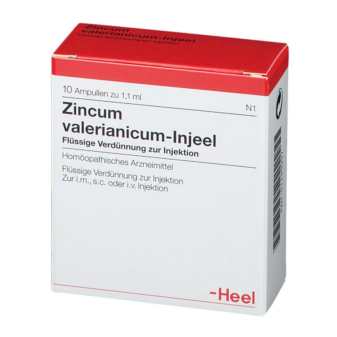 Zincum valerianicum-Injeel® Ampullen