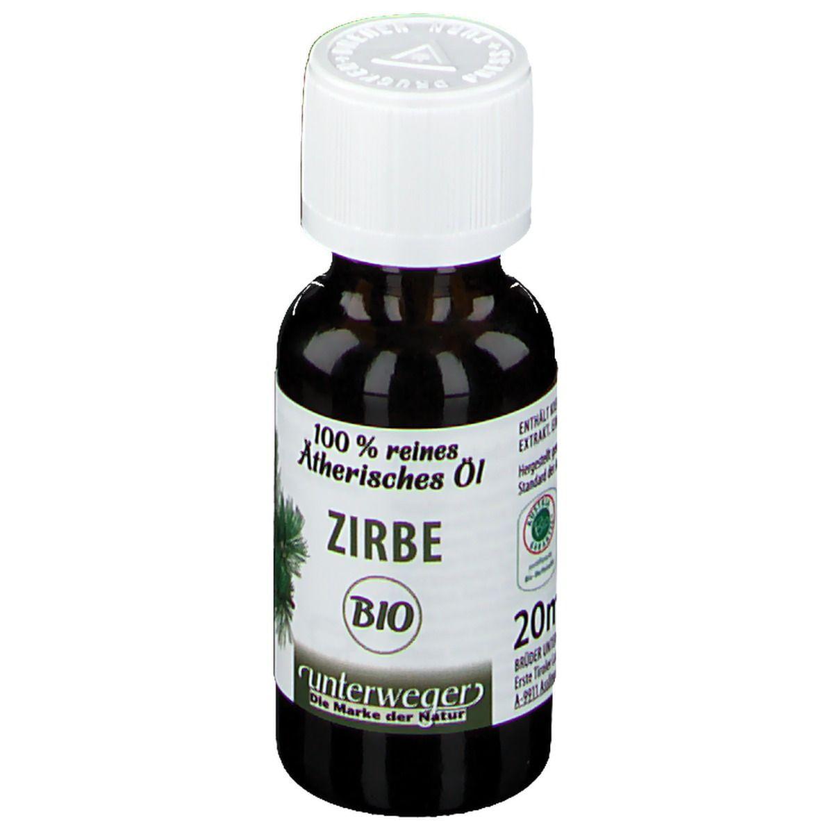 ZIRBEN-ÖL ätherisch Unterweger Bio