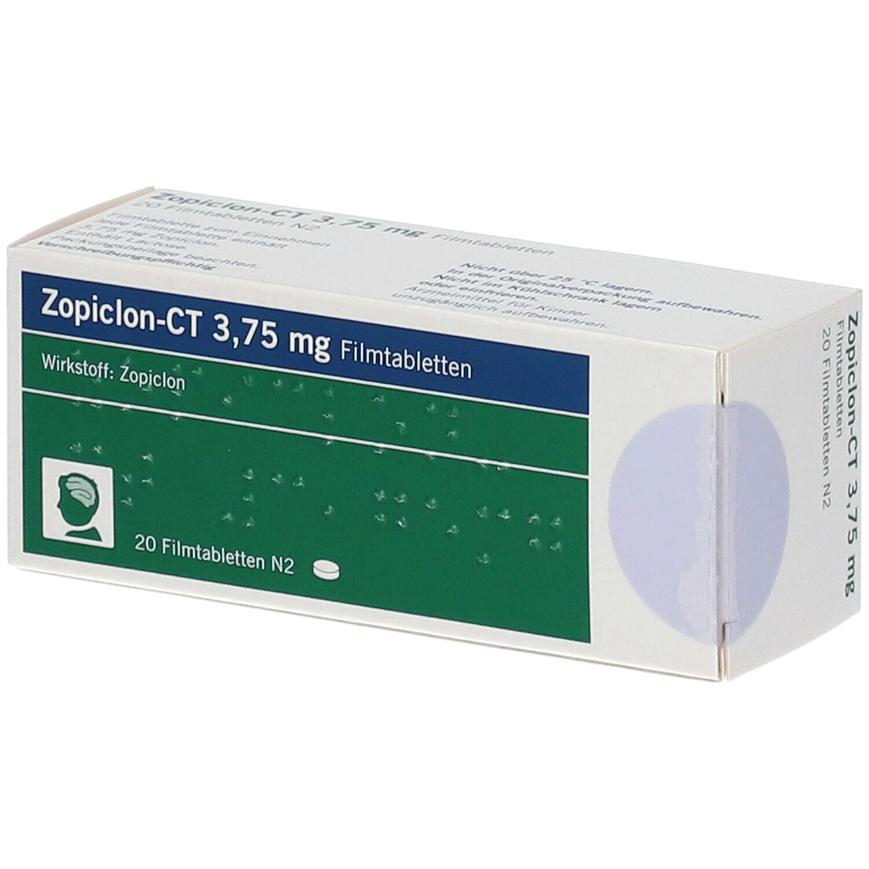 Zopiclon 3,75 v. Ct Filmtabl.
