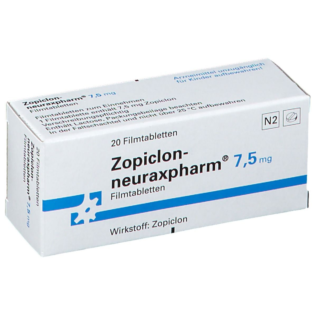 Zopiclon neuraxpharm 7,5 Filmtabl.