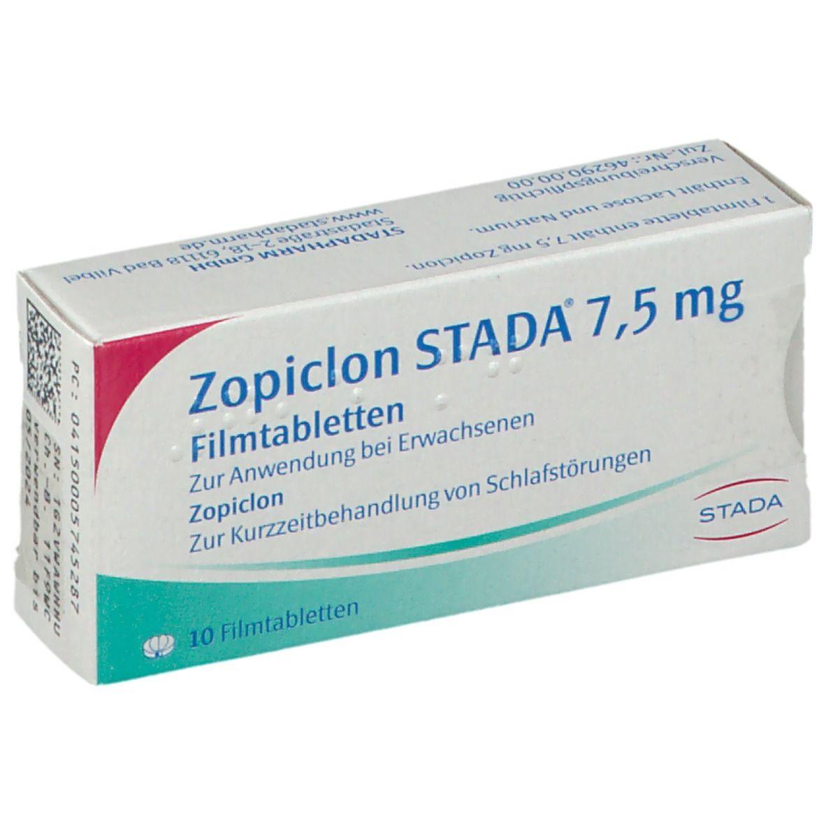 Zopiclon STADA® 7,5 mg