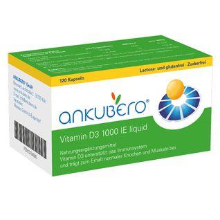 ankubero® Vitamin D3 1000 I.E. Liquidkapseln