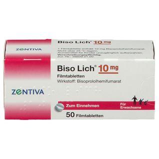 Biso Lich 10 mg Filmtabletten