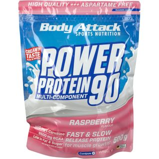 Body Attack Power Protein 90 Raspberry Cream