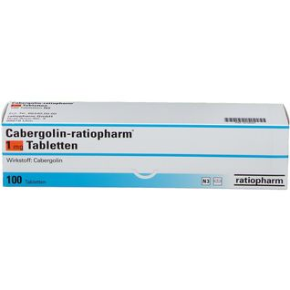 CABERGOLIN ratiopharm® 1 mg Tabletten