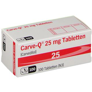 Carve Q 25 mg Tabletten