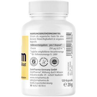Chrom Picolinat Kapseln 250 µg ZeinPharma