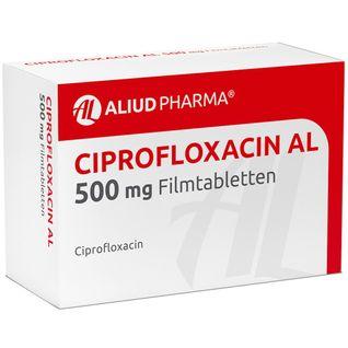 Ciprofloxacin Al 500 mg Filmtabl.