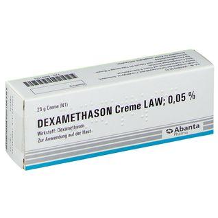 Dexamethason Creme Law