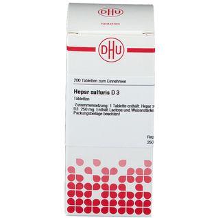 DHU Hepar Sulfuris D3