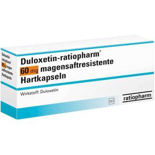DULOXETIN-ratiopharm® 60 mg magensaftres.Hartkaps.