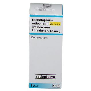 ESCITALOPRAM RATIO 20MG/ML