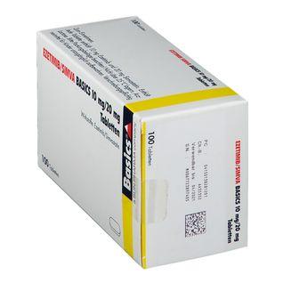 EZETIMIB/SIMVA BASICS 10 mg/20 mg Tabletten
