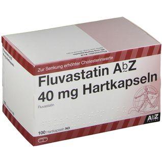 FLUVASTATIN AbZ 40 mg Hartkapseln